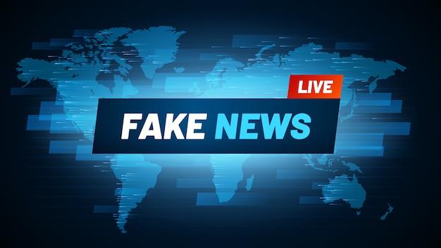 Fake news überschrift