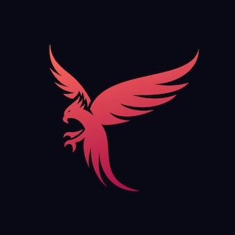 Falcon logo ideen