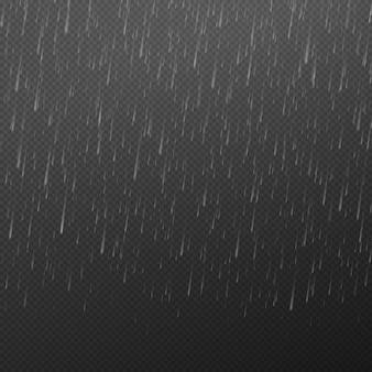 Fallende wassertropfen regen textur natur niederschlag abstrakte fallende wasser textur