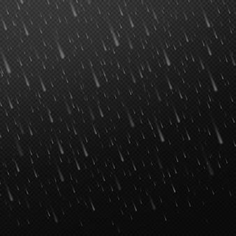 Fallende wassertropfen regen textur natur regen abstrakte fallende wasser textur