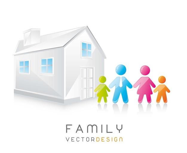 Familien-vektor