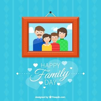 Familienbild hintergrund