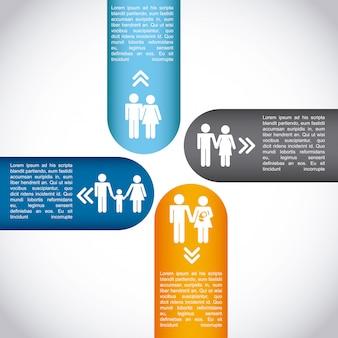 Familieninfografik