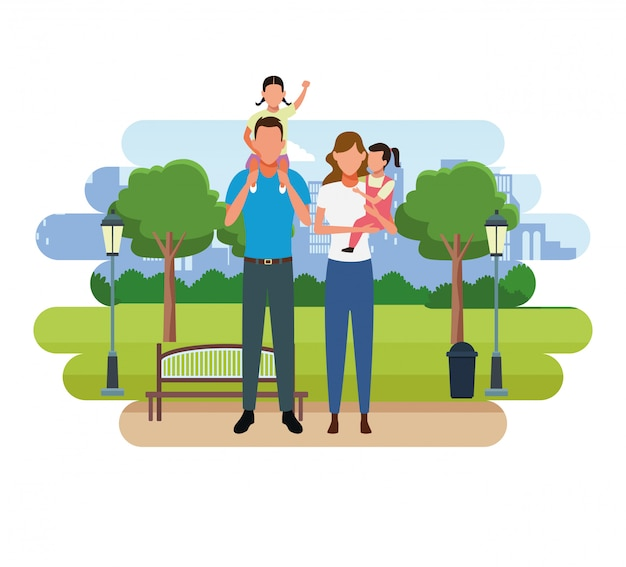 Familienmenschen cartoon