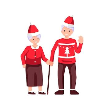 Familientreffen, frohe weihnachten und ein gutes neues jahr