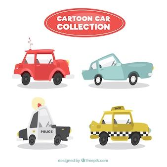 Fantastische cartoon fahrzeuge