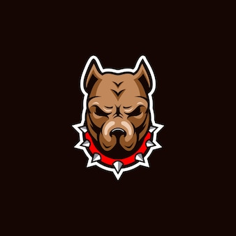 Fantastische inspiration des bulldoggenlogos