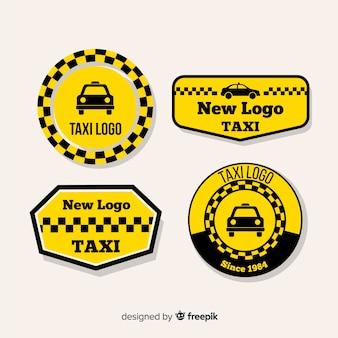Fantastische logos für taxiunternehmen