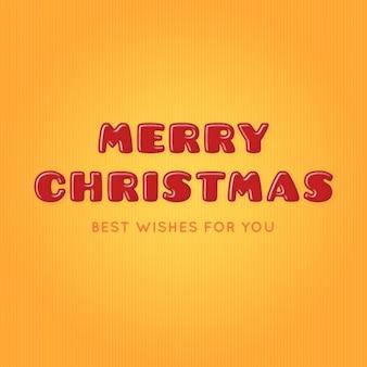 Fantastische merry christmas hintergrund mit streifen
