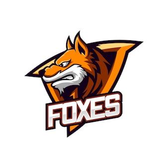 Fantastischer fox mascot
