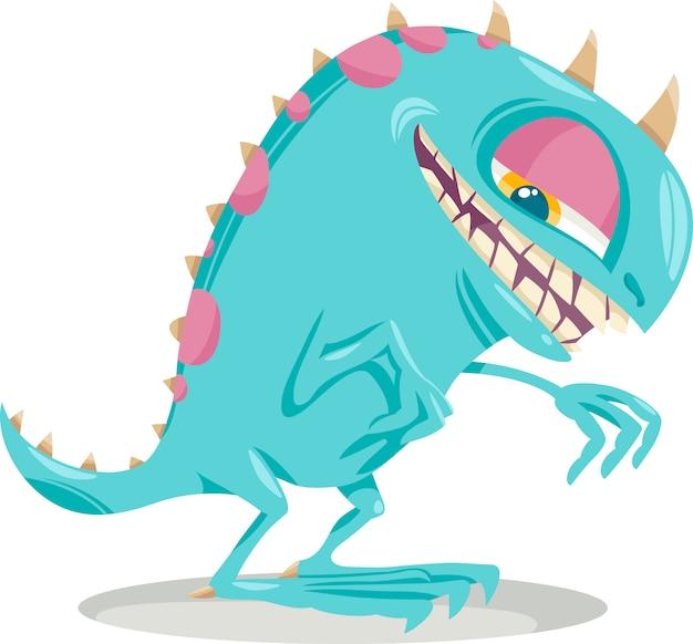 Fantasy-monster-cartoon-illustration