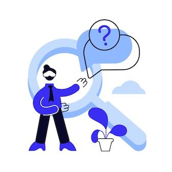 Faq-bereich der website. user helpdesk, kundensupport, häufig gestellte fragen.
