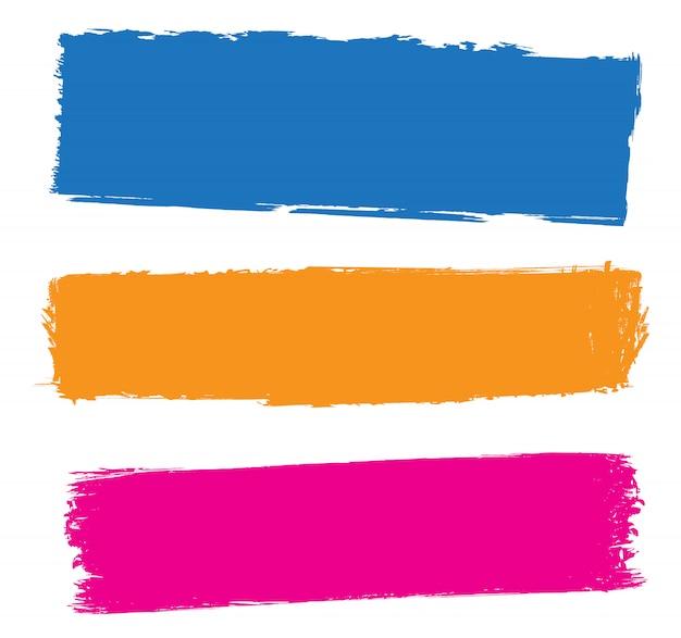 Farbe grunge striche
