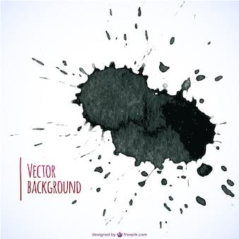 Farbe splatter vektor kostenloser download
