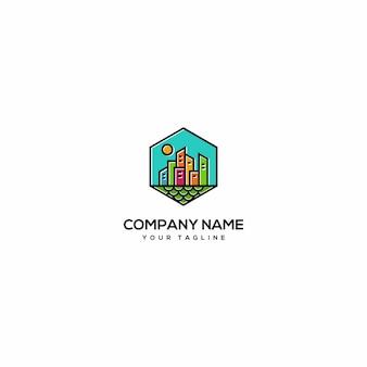 Farbe voll bulding logo