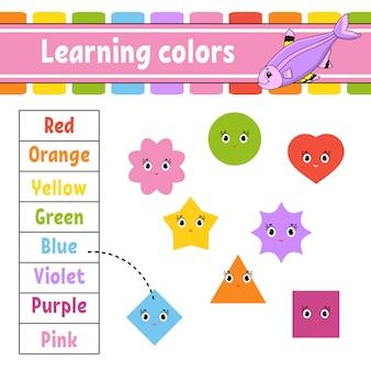 Farben lernen.
