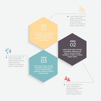 Farbenfrohe infografiken für ihre geschäftspräsentationen.