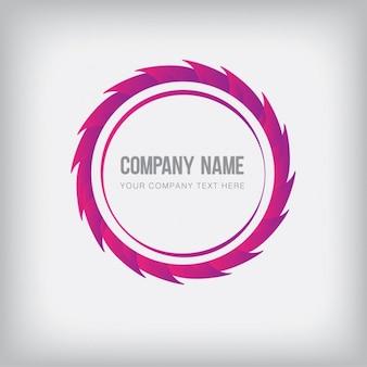 Farbige absract logo-vorlage