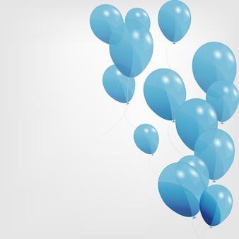 Farbige ballonillustration