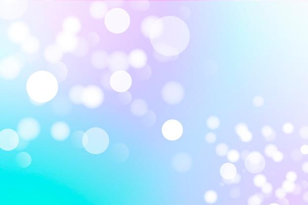 Farbige bokeh-tapete mit licht