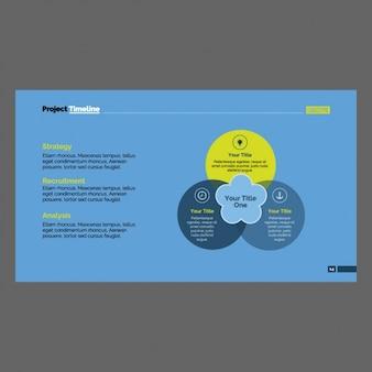 Farbige infografik-vorlage