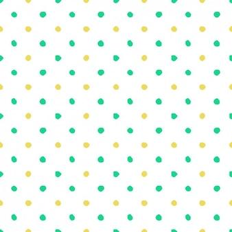 Farbige punkte muster design