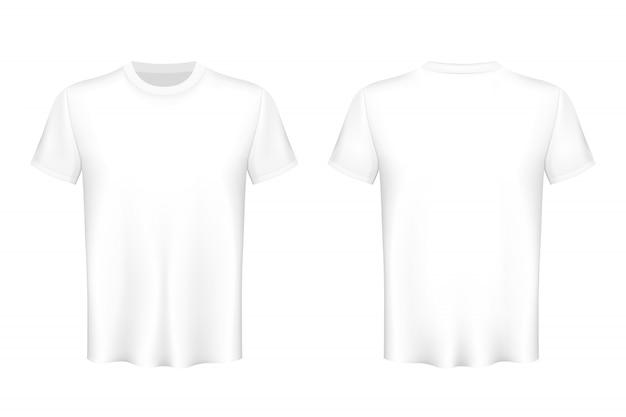 Farbige t-shirts leer