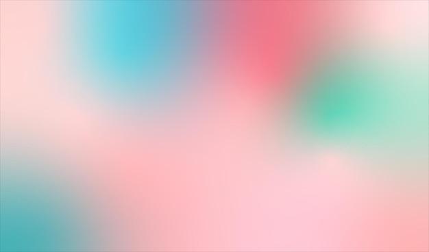 Farbiger abstrakter hintergrund des farbverlaufs. illustration.
