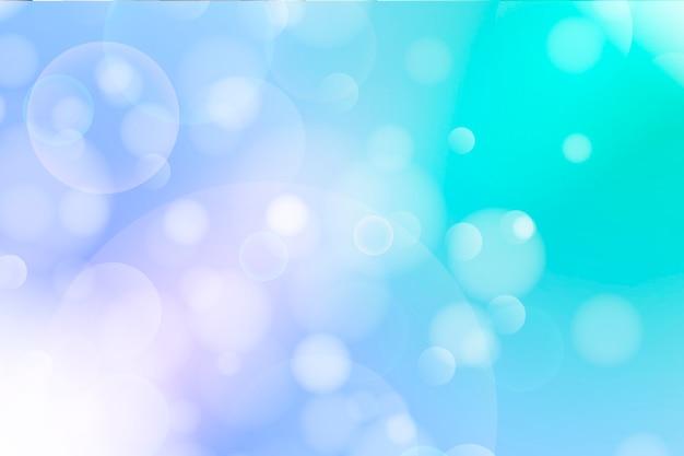 Farbiger bokehhintergrund mit licht