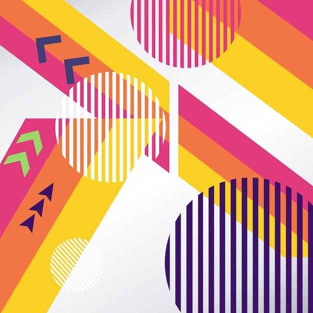 Farbpfeil abstrakten hintergrund