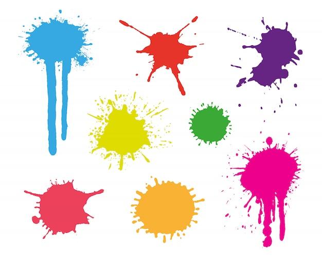 Farbspritzer eingestellt