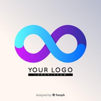 Farbverlauf abstrakte logo