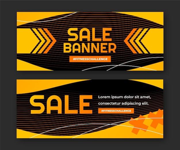 Farbverlauf-banner-vorlage
