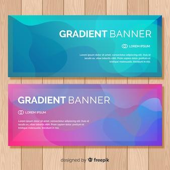 Farbverlauf-banner