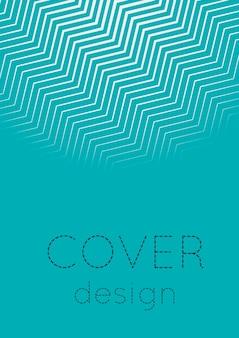 Farbverlauf-cover-vorlage. minimales trendiges layout mit halbton. futuristische farbverlaufs-cover-vorlage für banner, präsentation und broschüre. minimalistische bunte formen. abstrakte geschäftsillustration