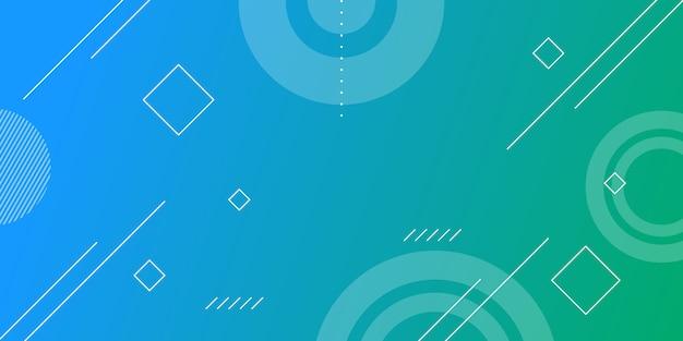 Farbverlauf geometrische form hintergrund