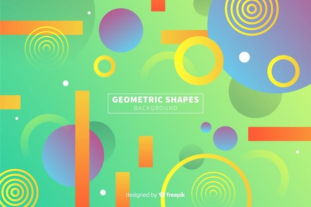 Farbverlauf geometrischen hintergrund