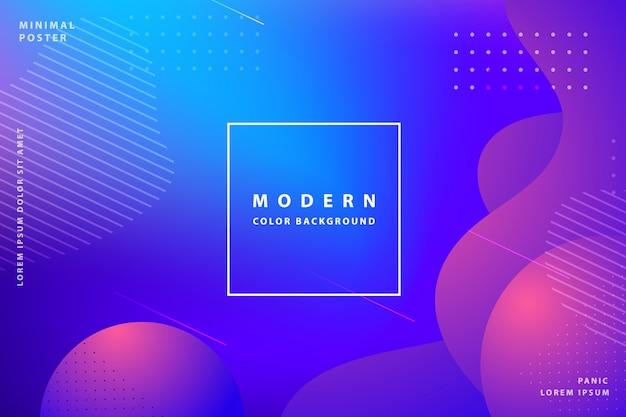 Farbverlauf landing page tempalte awesome modern