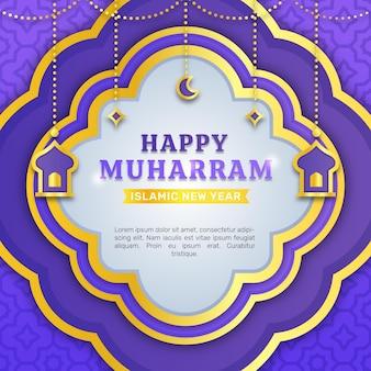 Farbverlauf muharram abbildung