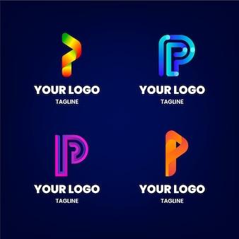 Farbverlauf p-logos gesetzt