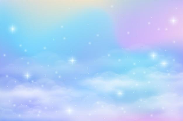 Farbverlauf pastellhimmel hintergrund