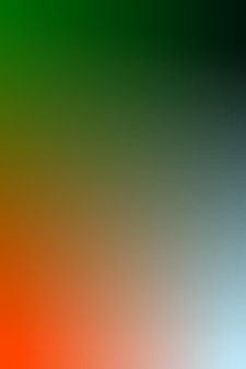 Farbverlauf, verschwommenes grün, waldgrün, rot-orange, babyblau-hintergrund mit farbverlauf