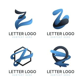Farbverlauf #z brief logo sammlung