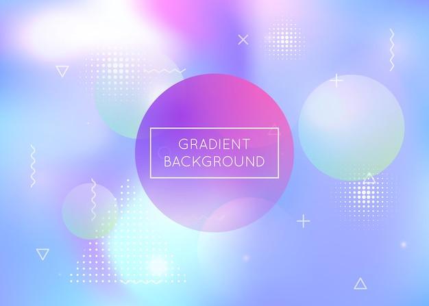 Farbverlaufshintergrund mit bokehlichtern