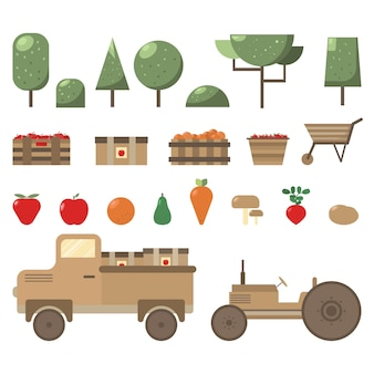 Farming and gardening elements group