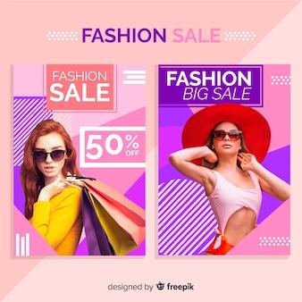 Fashion sale banner