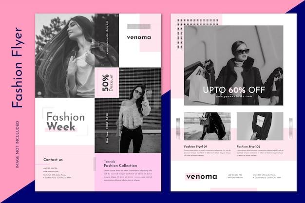 Fashion sale flyer vorlage