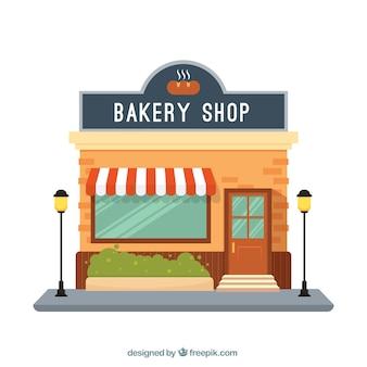 Fassade bäckerei