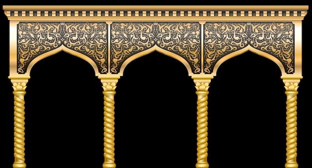 Fassade mit ornament