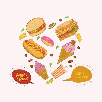 Fast food am besten in der stadt